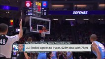 JJ Redick Deal Helps 76ers Be Flexible For Summer 2018 | The Jump | ESPN