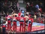 AJPW All Japan Pro Wrestling Animal Warrior & Hawk Warrior vs Genichiro Tenryu & Jumbo Tsu