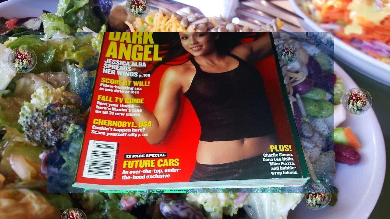 Maxim Magazine For Men October 2000 Jessica Alba Dark Angel