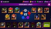 Juego leyendas va búsqueda tortugas visión Ninja Tortugas Ninja
