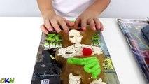 Aliments contre géant gommeux enfants amusement défi géant Bonbons Bonbons aliments dégustation Jeu jouets