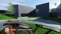 Le musée du verre de Sars-Poteries au JT de 13 heures de France 2 (23 août 2017)