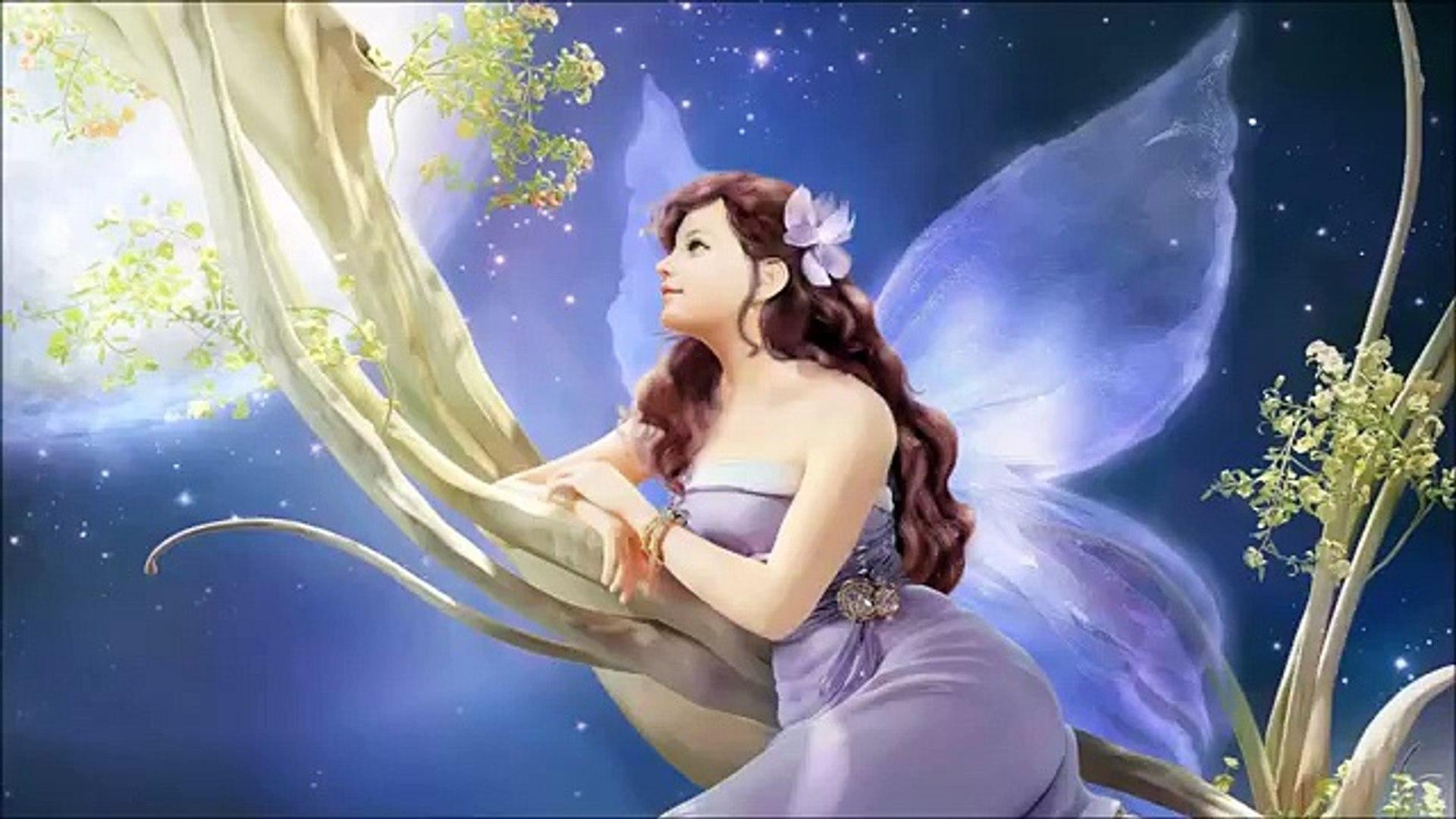 Celta hada música magia bosque