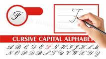 Cursive Writing For Children | Writing Capital Cursive