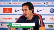 "Emery (PSG) : ""Notre premier gros test"""