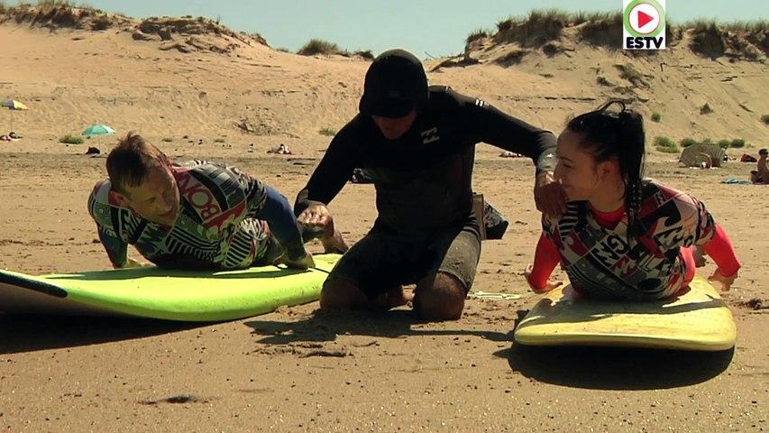 Naturisme: Ecole de Surf du CHM Monta - Euskadi Surf TV