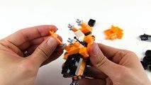 Una y una en un tiene una un en y edificio construcción taladro excavador para Niños juguetes vehículos vídeos |
