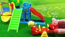 Porc jouets vidéos avec Dans le et Peppa Pig Peppa Dr. peluche Médecin de jeu varicelle en
