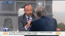 """Contrats aidés : """"Je préfère la formation"""", déclare Edouard Philippe"""