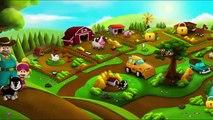 Farm animals and Wild Animals - food Animals for Kids
