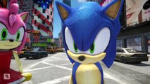 SONIC THE HEDGEHOG AND AMY ROSE VS TALKING TOM AND TALKING ANGELA EPIC BATTLE SONIC THE HE