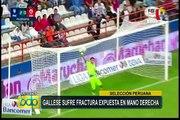 Selección Peruana: Leao Butrón se sumó a los entrenamientos en la Videna