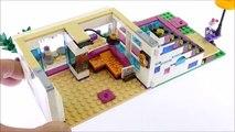 Lego Friends 41135 Livis Pop Star House - Speed Build