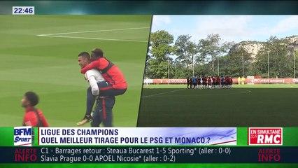 Gilbert Brisbois dévoile les chapeaux de la Ligue des champions