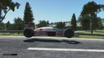 Classic Team LOTUS 98T Renault Turbo 1986 Vintage Formula Rear Camera Azure Coast HD