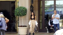 Madison Beer All Smiles About Dating Brooklyn Beckham While Visiting Justin Bieber