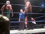 The Great Khali & Finlay vs Batista & Rey Mysterio