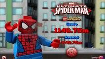 2,0 héros infini merveille partie homme araignée ultime procédure pas à pas Disney super playset 8