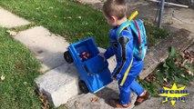 Careless Dad Crushes Toys Under Car, Mommy B Has Crushing Dreams Thomas, Power Ranger Spid