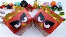 2016 McDONALDS EVERYTHING ANGRY BIRDS MOVIE HAPPY MEAL ACTION BIRD CODES FOOD TOYS BOX CO