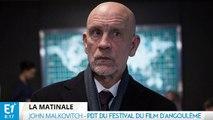 """John Malkovich président du jury du festival d'Angoulême  : """"J'attends d'oublier où je suis et qui je suis"""""""
