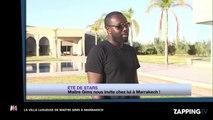 Maître Gims présente sa luxueuse villa à Marrakech (vidéo)