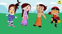Wrong Legs Chhota Bheem Indumati Chutki Mighty Raju Finger Family Song Learn Colors For Kids