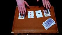 Tour de magie avec cartes divination explication 1