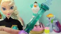 Changer échangeur couleur poupée Robe gelé la magie Magie Princesse reine sœurs eau Disney elsa anna
