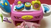Jeux pour machine à coudre Lave-linge jeu de nettoyage maison filles fer propres enfants de 3 jeux