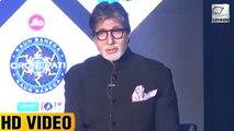 Amitabh Bachchan Gets EMBARRASSED By A Reporter During Kaun Banega Crorepati 9 Launch