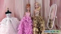 Poupées Robes Nouveau les princesses disney robes de poupées barbie noël madame récré