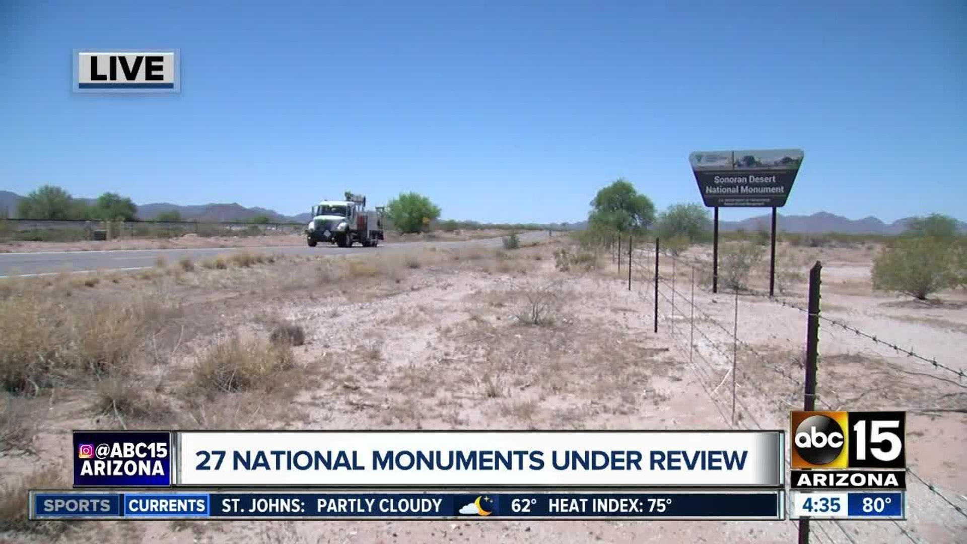 Dozens of national monuments under review