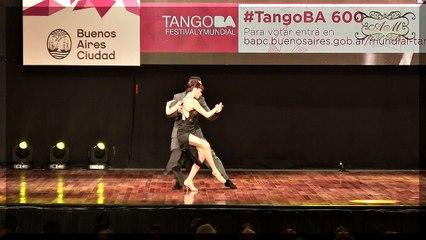 Mundial de Tango 2017.Emanuel Casal, Yanina Muzyka, Gonzalo Bogado, Jimena Toñanez