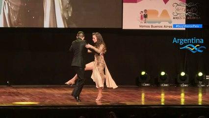 Mundial de Tango 2017, Final Escenario, Daniel Boujon, Agustina Piaggio,  Tierra del Fuego