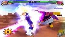 Dragon Ball Z Budokai Tenkaichi 3 - Story Mode SSJ2 Goku Vs Majin Vegeta (Part 15) 【HD】