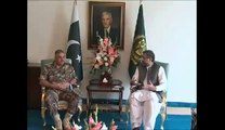 CHAIRMAN JOINT CHIEFS OF STAFF OF JORDAN ARMED FORCES CALLS ON PM