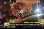 Pueblo Libre: policía captura a banda de delincuentes que asaltó a grupo de turistas