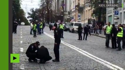Ukraine : deux blessés dans une explosion en plein centre de Kiev