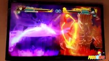 Naruto Shippuden Ultimate Ninja Storm Revolution Kurama vs Mech Kurama Clip Gameplay Wonde