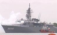 Un escuadrón de entrenamiento japonés se encuentra de visita en Guayaquil