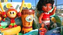 Y diana diana espectáculo de piscina para niños VER muñeca Moana Maui