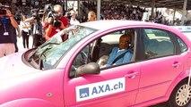 Crash-test de voitures autonomes par AXA