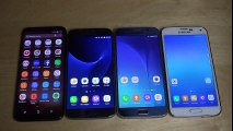 Samsung Galaxy S8 vs. Samsung Galaxy S7 vs. Samsung Galaxy S6 vs. Samsung Galaxy S5 - Speed Test