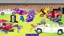 Androïde bébé voiture des voitures enfants au volant pour enfants mécanicien demain |