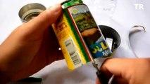 Comment faire des lanternes lanternes de boîtes de conserve