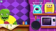 Zombi monstre cuisine cuire et jouer avec aliments pour petit monstre par enfants des jeux