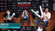 The GLORY Kickboxing Podcast: Episode 18 (featuring Antoine Pinto)