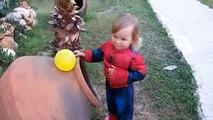 Et bébés bébé des ballons les couleurs la famille doigt pour enfants apprentissage garderie réal rimes avec s