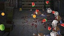 Jeu parodie plantes contre des morts-vivants fruit
